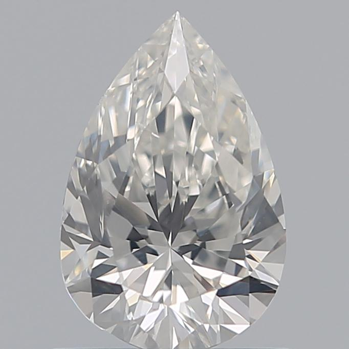 0.80 Carat Pear Loose Diamond, H, SI2, Super Ideal, GIA Certified