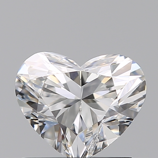 0.70 Carat Heart Loose Diamond, F, VS1, Super Ideal, GIA Certified | Thumbnail