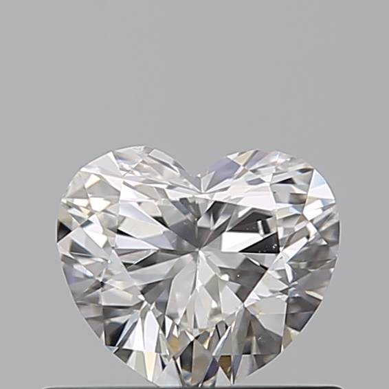 0.40 Carat Heart Loose Diamond, G, VS2, Super Ideal, GIA Certified