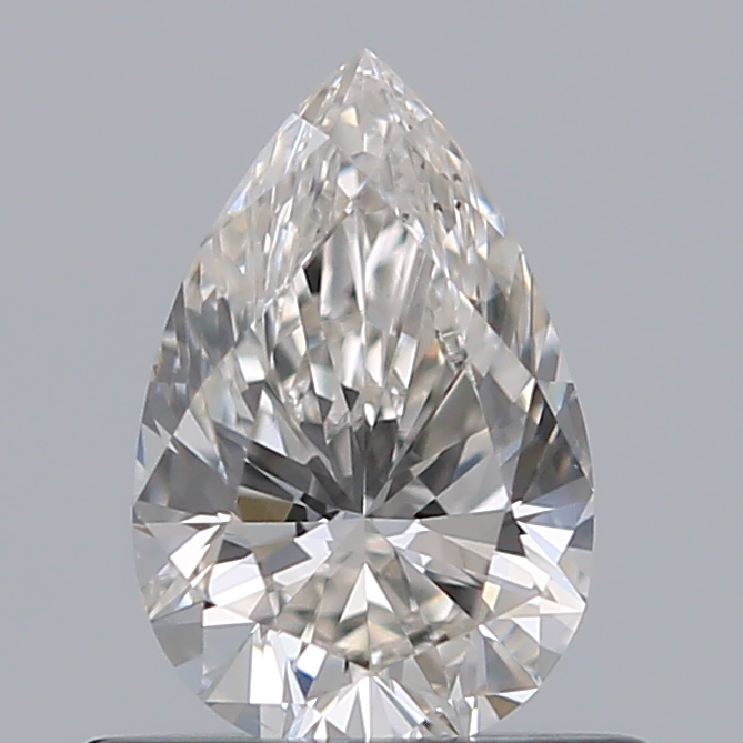 0.50 Carat Pear Loose Diamond, I, VS2, Super Ideal, GIA Certified