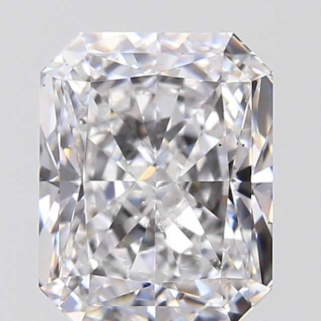 1.00 Carat Radiant Loose Diamond, D, SI1, Excellent, GIA Certified