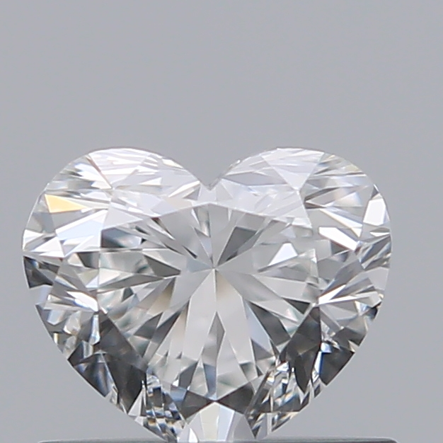 0.50 Carat Heart Loose Diamond, F, VS1, Ideal, GIA Certified