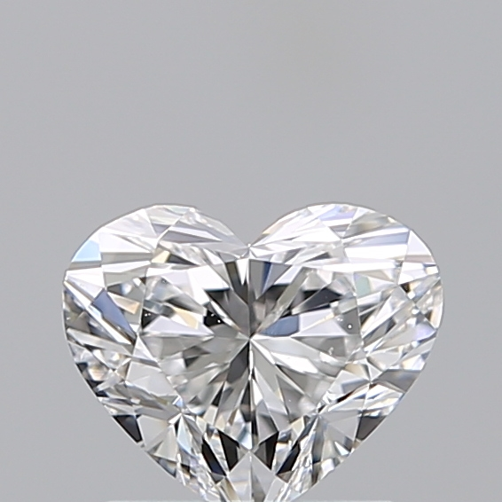 1.00 Carat Heart Loose Diamond, D, VS2, Super Ideal, GIA Certified