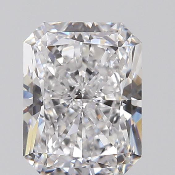 0.71 Carat Radiant Loose Diamond, D, VS2, Super Ideal, GIA Certified