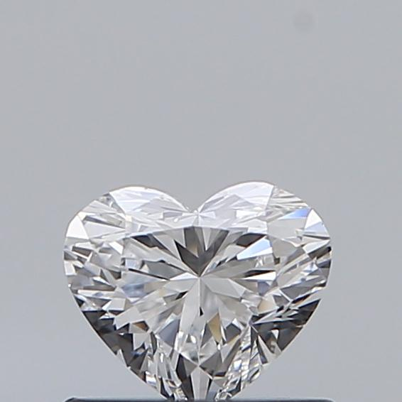 0.46 Carat Heart Loose Diamond, D, VS1, Super Ideal, GIA Certified