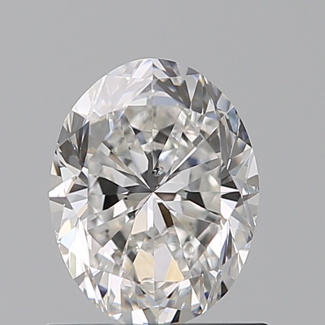 0.76 Carat Oval Loose Diamond, F, SI1, Excellent, GIA Certified