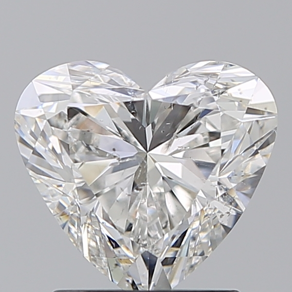 1.50 Carat Heart Loose Diamond, G, SI2, Super Ideal, GIA Certified