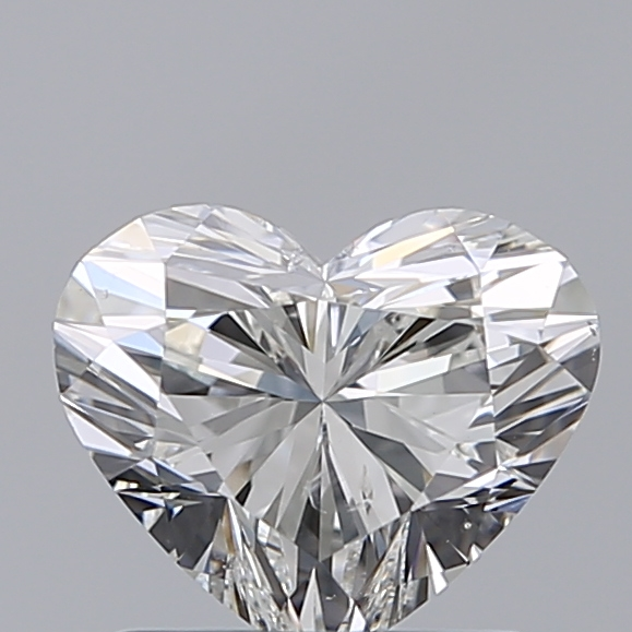 1.01 Carat Heart Loose Diamond, H, SI1, Super Ideal, GIA Certified