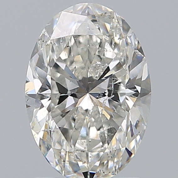 1.53 Carat Oval Loose Diamond, H, SI2, Super Ideal, GIA Certified | Thumbnail