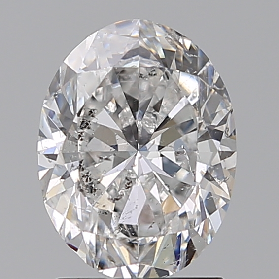 1.50 Carat Oval Loose Diamond, E, SI2, Ideal, GIA Certified