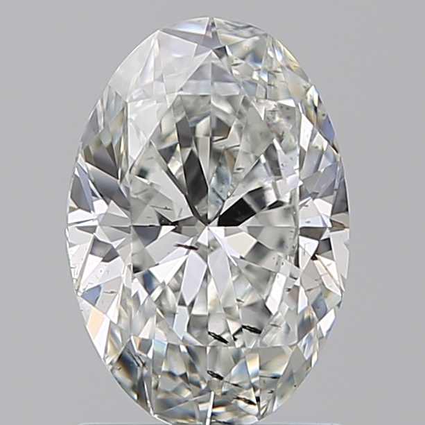 1.20 Carat Oval Loose Diamond, FANCY, SI2, Super Ideal, GIA Certified | Thumbnail