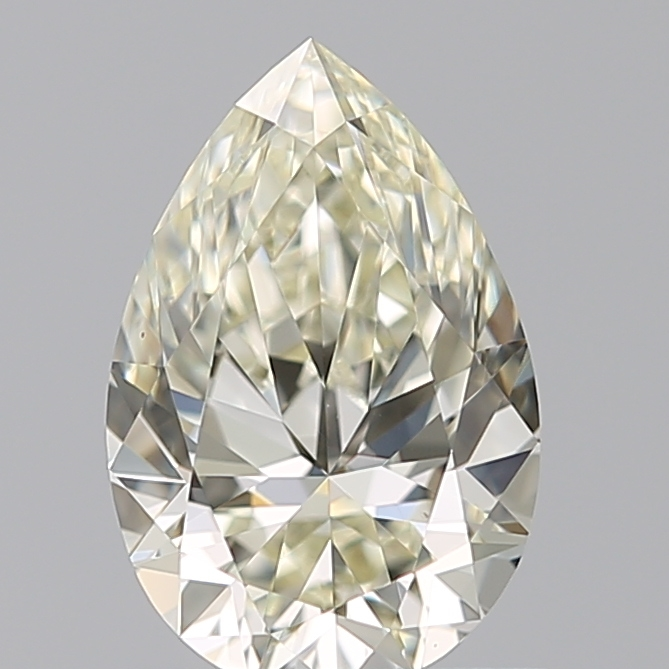 0.72 Carat Pear Loose Diamond, M, VS2, Super Ideal, GIA Certified | Thumbnail