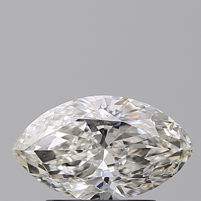 0.96 Carat Marquise Loose Diamond, H, SI1, Very Good, GIA Certified