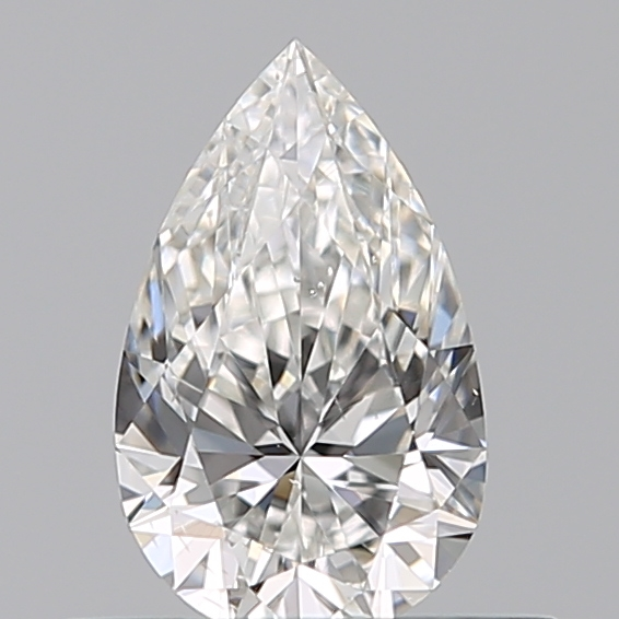 0.36 Carat Pear Loose Diamond, F, SI1, Ideal, GIA Certified