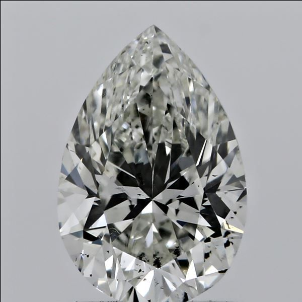 0.51 Carat Pear Loose Diamond, J, SI2, Excellent, GIA Certified