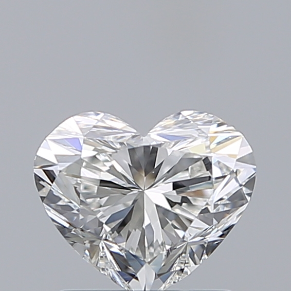 1.01 Carat Heart Loose Diamond, G, VS2, Super Ideal, GIA Certified