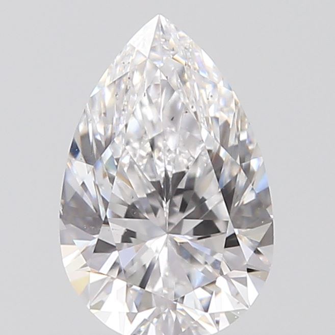 0.40 Carat Pear Loose Diamond, D, VS2, Super Ideal, GIA Certified | Thumbnail