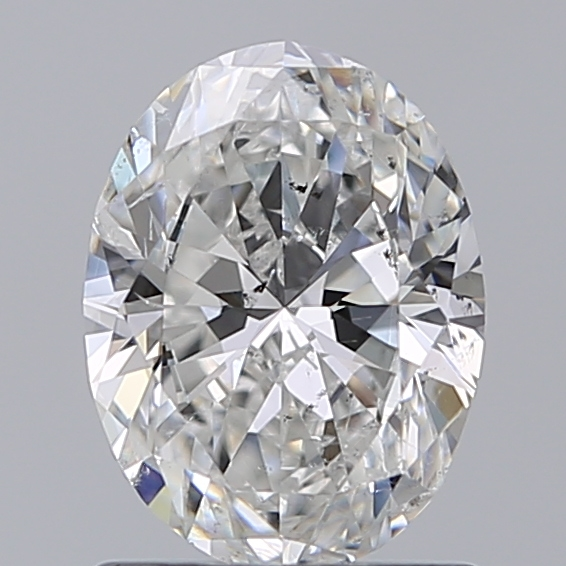 0.90 Carat Oval Loose Diamond, F, SI2, Ideal, GIA Certified