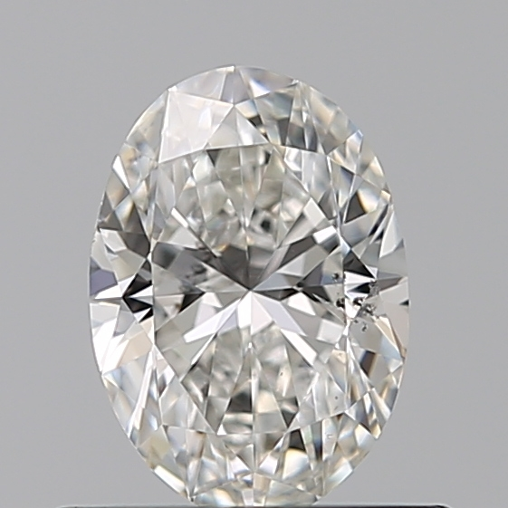 0.50 Carat Oval Loose Diamond, G, SI1, Ideal, GIA Certified
