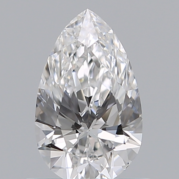 0.59 Carat Pear Loose Diamond, D, VS1, Super Ideal, GIA Certified | Thumbnail