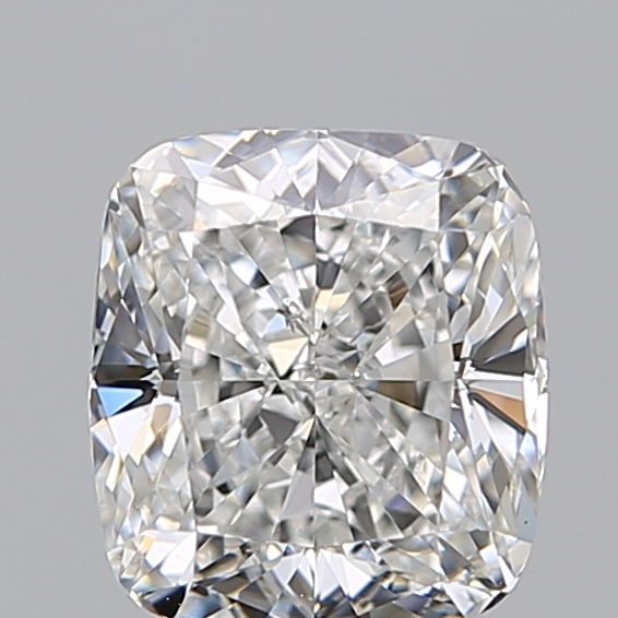 2.00 Carat Cushion Loose Diamond, F, SI1, Ideal, GIA Certified