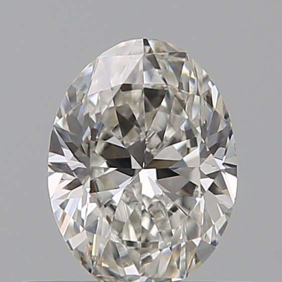 0.40 Carat Oval Loose Diamond, I, VS1, Excellent, GIA Certified