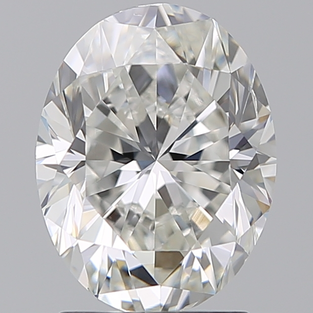 2.00 Carat Oval Loose Diamond, G, VS2, Very Good, GIA Certified