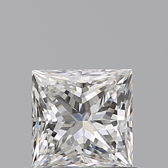 0.53 Carat Princess Loose Diamond, G, VVS2, Ideal, GIA Certified