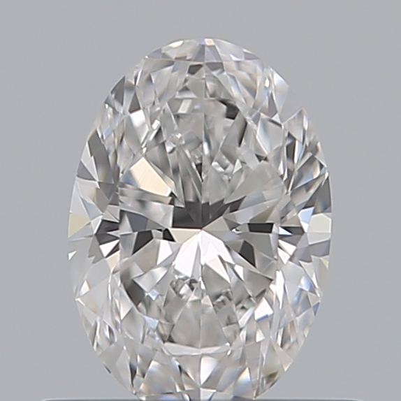 0.50 Carat Oval Loose Diamond, D, VS1, Ideal, GIA Certified