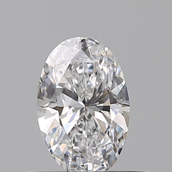 0.41 Carat Oval Loose Diamond, D, SI1, Excellent, GIA Certified