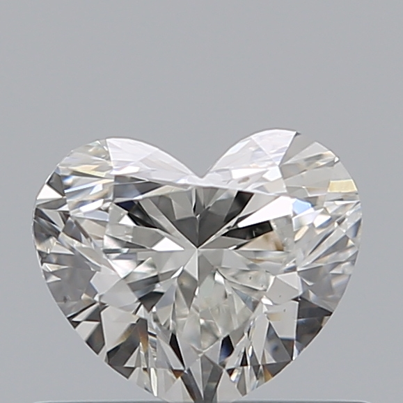 0.49 Carat Heart Loose Diamond, G, VS2, Super Ideal, GIA Certified