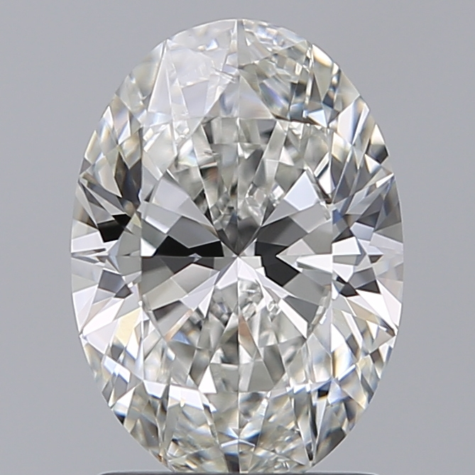 1.57 Carat Oval Loose Diamond, G, VS2, Super Ideal, GIA Certified