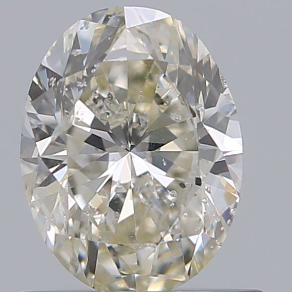0.70 Carat Oval Loose Diamond, M, SI2, Excellent, GIA Certified