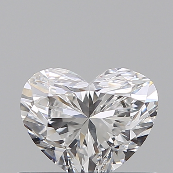 0.40 Carat Heart Loose Diamond, D, VS1, Ideal, GIA Certified
