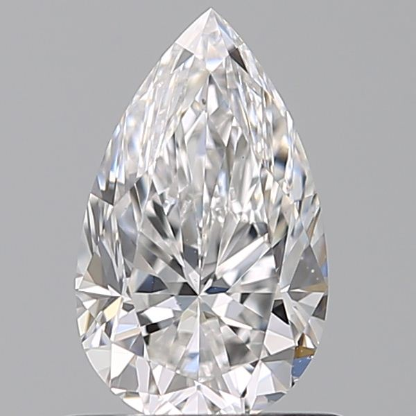 0.70 Carat Pear Loose Diamond, E, VS2, Ideal, GIA Certified