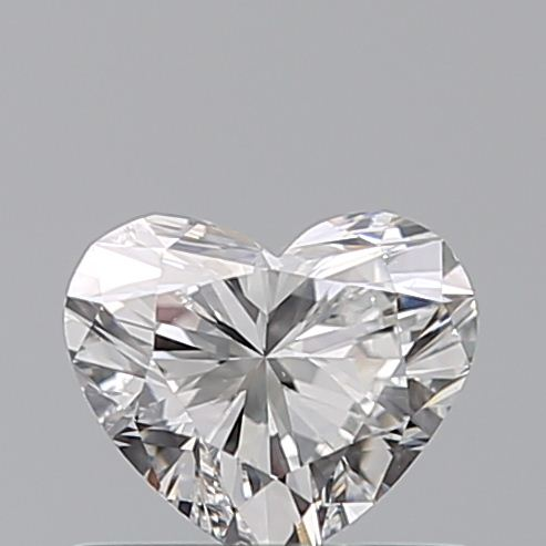 0.50 Carat Heart Loose Diamond, F, SI1, Super Ideal, GIA Certified