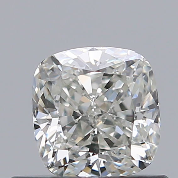 0.50 Carat Cushion Loose Diamond, J, VS2, Ideal, GIA Certified