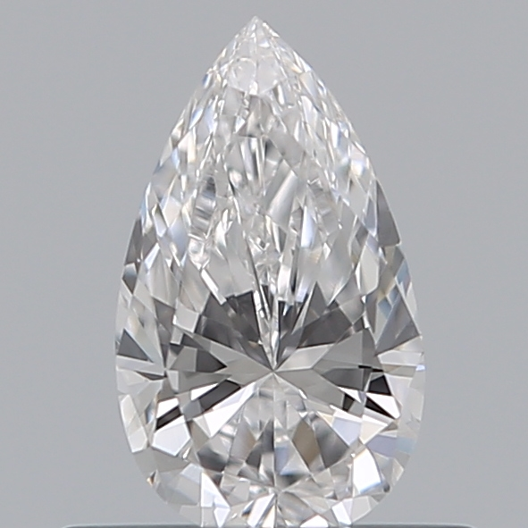 0.38 Carat Pear Loose Diamond, D, IF, Super Ideal, GIA Certified