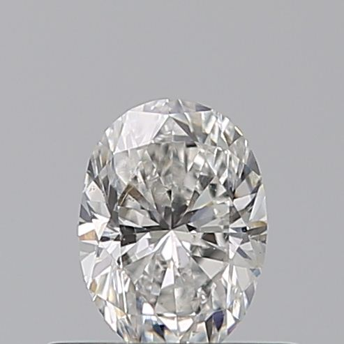 0.41 Carat Oval Loose Diamond, F, VS2, Excellent, GIA Certified