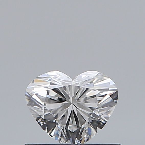0.41 Carat Heart Loose Diamond, E, IF, Super Ideal, GIA Certified