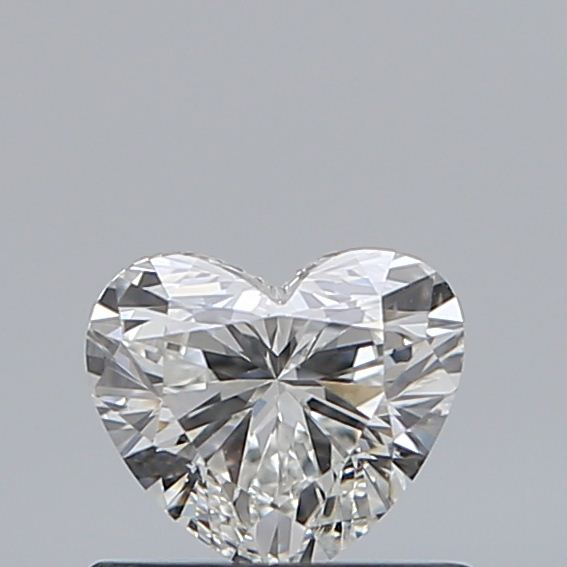 0.50 Carat Heart Loose Diamond, G, VS2, Super Ideal, GIA Certified