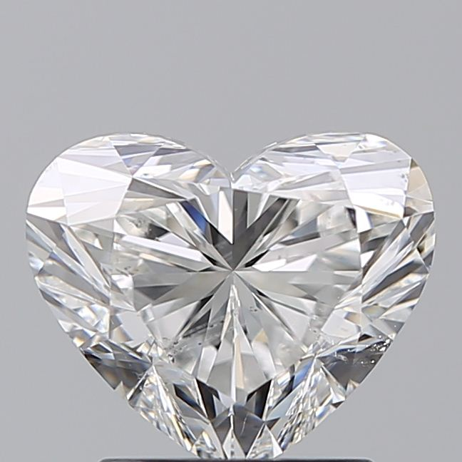 1.70 Carat Heart Loose Diamond, G, SI2, Super Ideal, GIA Certified
