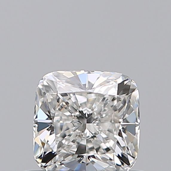 0.50 Carat Cushion Loose Diamond, F, SI1, Ideal, GIA Certified
