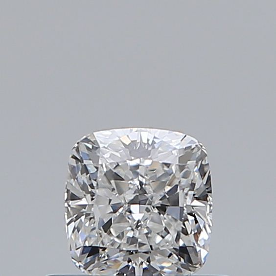 0.50 Carat Cushion Loose Diamond, E, SI1, Very Good, GIA Certified
