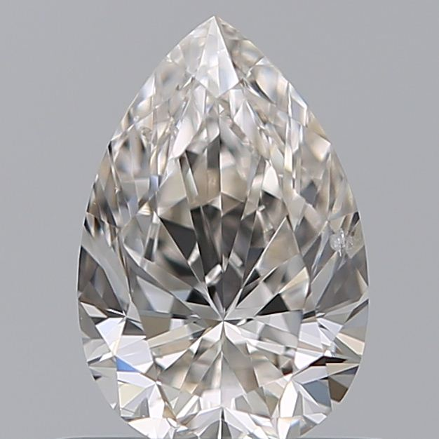 0.50 Carat Pear Loose Diamond, J, SI2, Ideal, GIA Certified