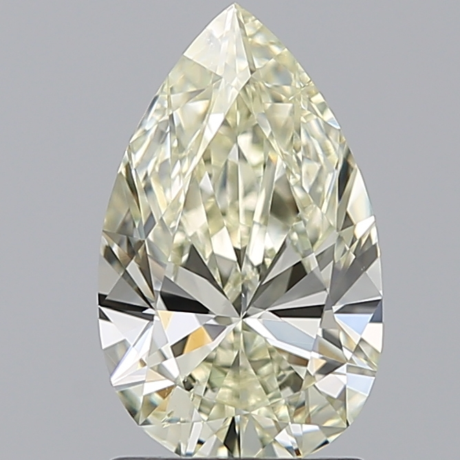 1.29 Carat Pear Loose Diamond, N, SI1, Ideal, GIA Certified | Thumbnail