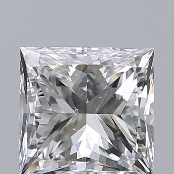 0.94 Carat Princess Loose Diamond, F, VS2, Super Ideal, GIA Certified