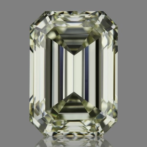 1.51 Carat Emerald Loose Diamond, L, IF, Super Ideal, GIA Certified | Thumbnail