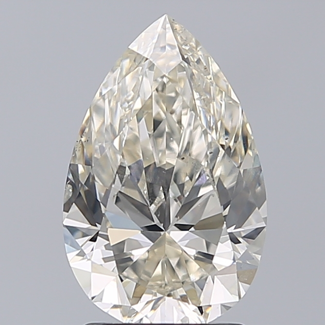 2.21 Carat Pear Loose Diamond, K, SI1, Super Ideal, GIA Certified | Thumbnail