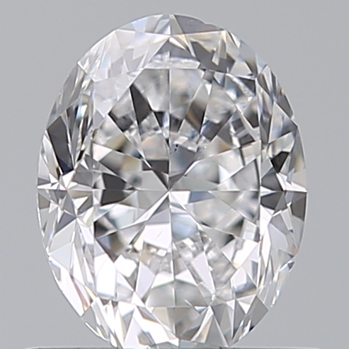0.70 Carat Oval Loose Diamond, D, VS1, Excellent, GIA Certified